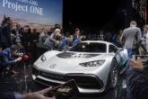 Project One foi o carro do salão! O primeiro hipercarro híbrido da Mercedes-AMG tem o mesmo motor dos carros da equipe de F1! (Foto: Divulgação)