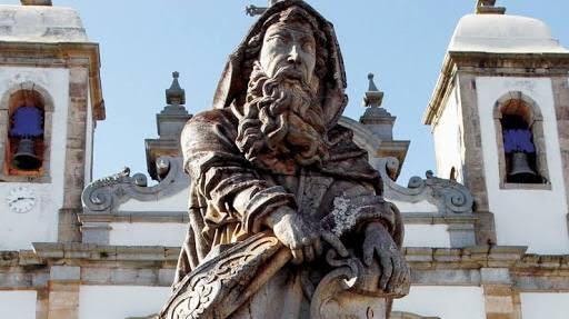 A Basílica do Senhor Bom Jesus de Matosinhos, em Congonhas, é um dos mais importantes conjuntos da arte barroca (Foto: Divulgação/ congonhas.com)