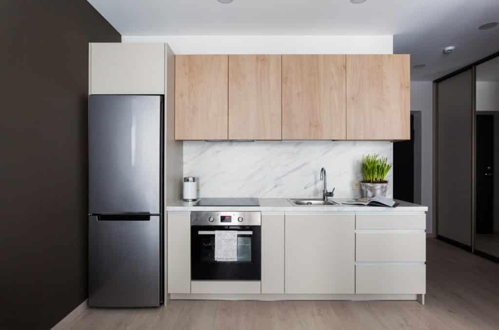 Modelo de Armário de Cozinha Pequeno