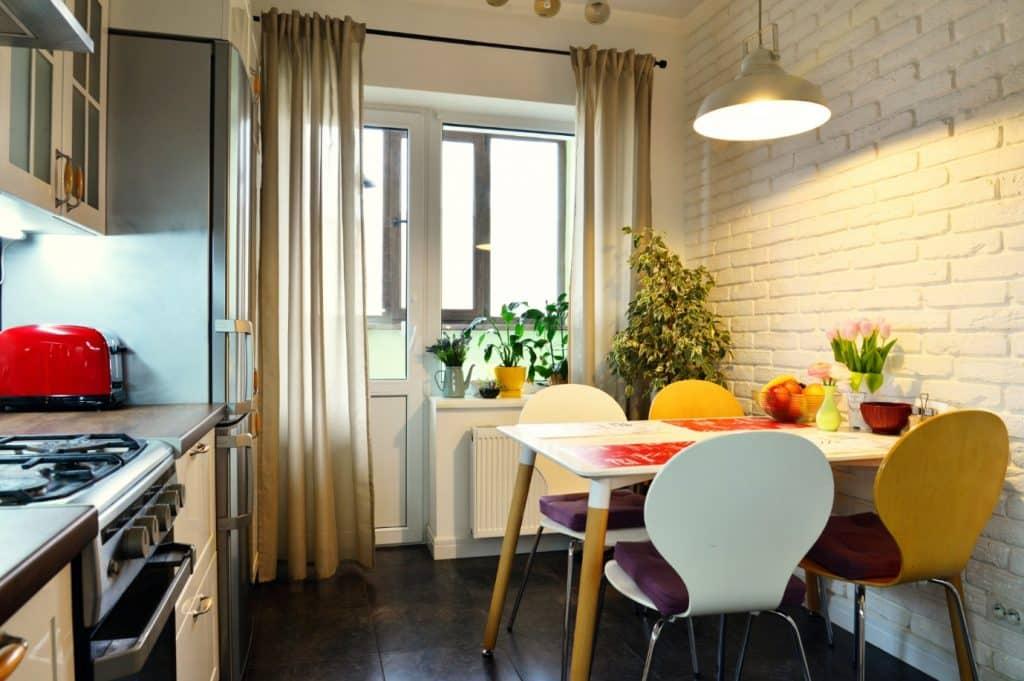 Modelo de Mesa Para Cozinha Pequena