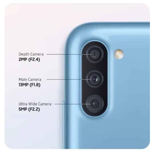 Câmera Galaxy A11