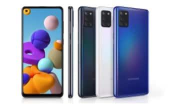 Design Samsung Galaxy A21S