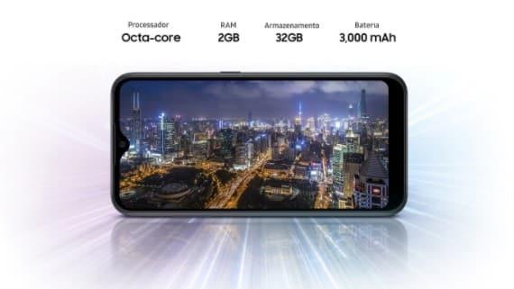 Processador Galaxy A01
