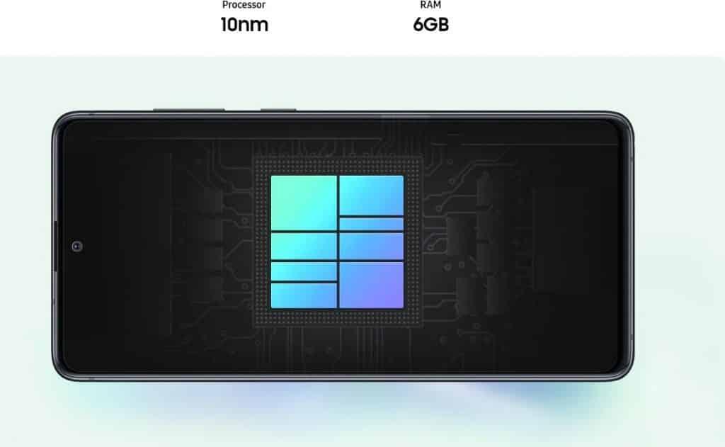 Processador Samsung Galaxy Note 10 Lite