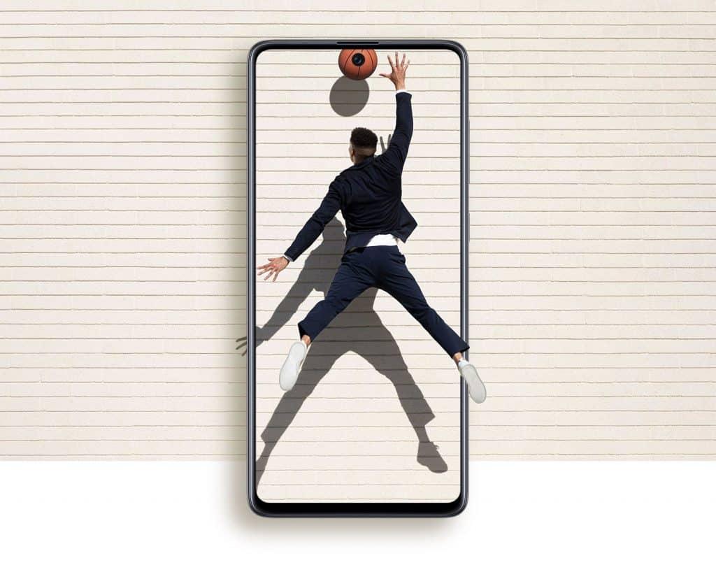 Display Galaxy A71