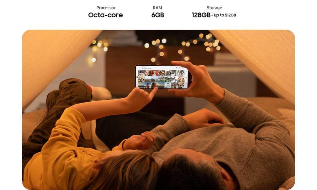 Processador Samsung Galaxy A71