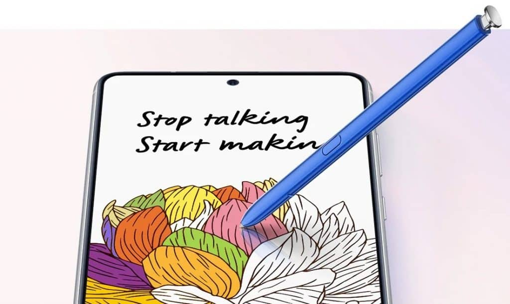 Caneta S Pen Samsung Galaxy Note 10 Lite