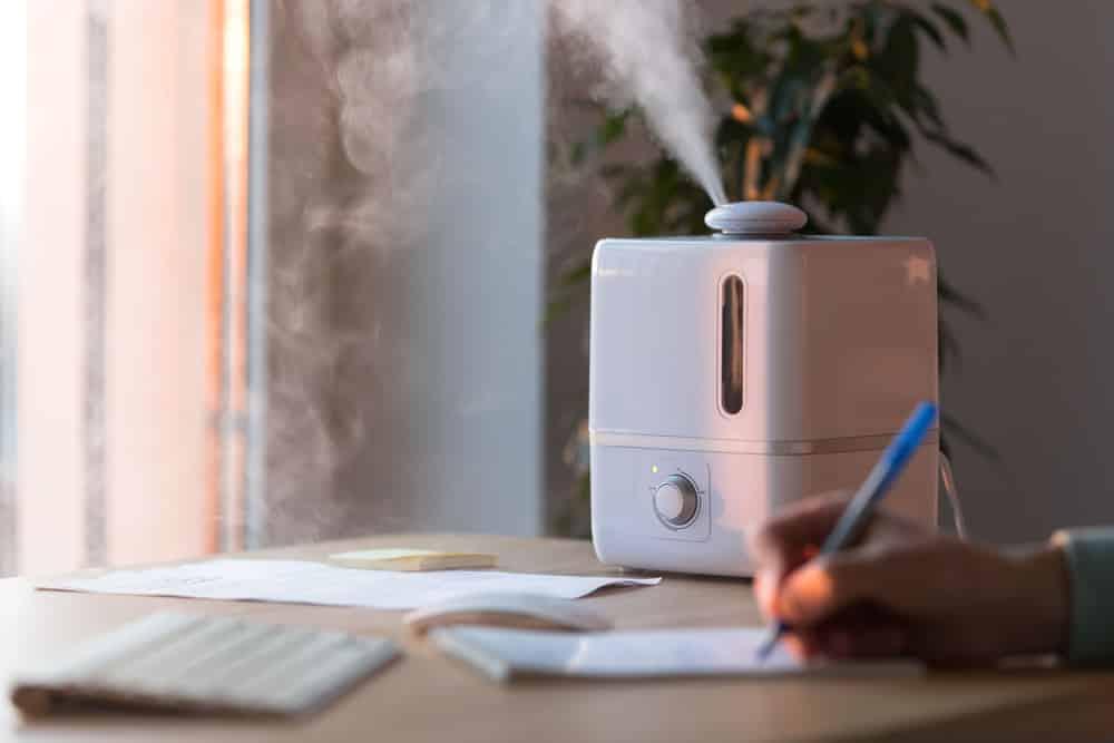 Como usar o umidificador de ar?